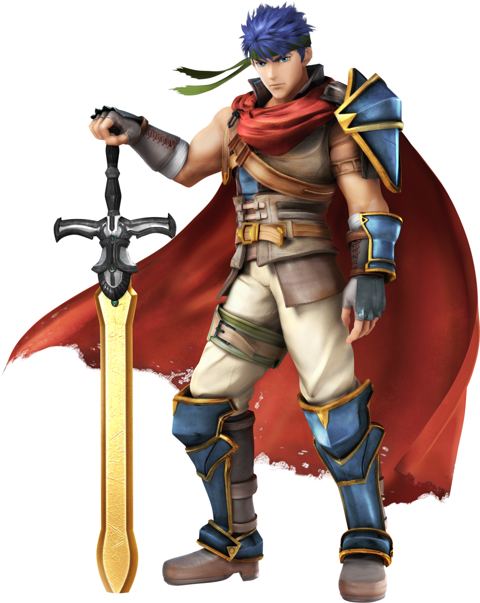 photo of ike from smash brothers