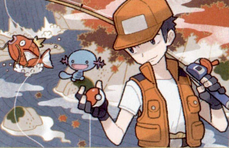 fisherman from the pokemon tcg