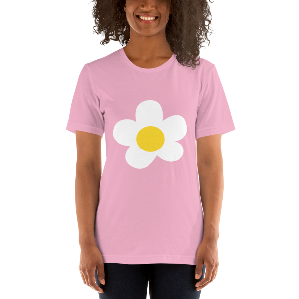 villager flower mockup Front Womens 2 Lilac